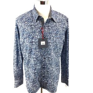 Robert Graham Men's Sz XL Long Sleeve Shirt